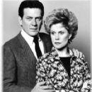 Elizabeth Montgomery and Robert Foxworth
