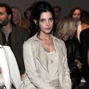 Ashley Greene at the Salvatore Ferragamo Fashion Show during Milan Fashion Week (February 25)
