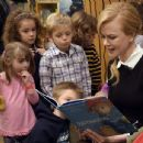 Nicole Kidman reads 'Paddington Storytime' at Barnes & Noble celebrating upcoming movie, opening January 16, on November 6, 2014 in Brentwood, Tennessee