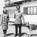 Eva Braun and Adolf Hitler - 454 x 335