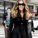Sarah Jessica Parker Lands at Narita International Airport