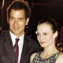 Clive Owen and Sarah-Jane Fenton