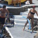 Eva Mendes - Bikini On Holiday In Italy (07/16/09)