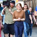 Emma Stone – Films 'Billy on the Street' set in New York City
