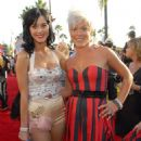 Katy Perry and Pink - 2008 MTV Video Music Awards In Los Angeles, 07.09.2008.