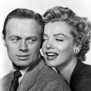 Marilyn Monroe and Richard Widmark