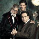 Shah Rukh Khan, Amitabh Bachchan, Dilip Kumar - Filmfare Magazine Pictorial [India] (24 April 2013) - 454 x 608