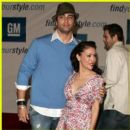 Victor Webster and Alyssa Milano