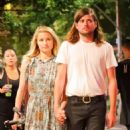Dianna Agron and Winston Marshall on a dinner date in New York City - 454 x 535