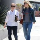 Alyson Hannigan and Leslie Bibb out for lunch in Studio City - 454 x 579