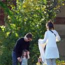 Katie Holmes & Tom Cruise Take Suri For An Outing Along The Charles River In Cambridge, 2009-10-12