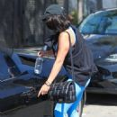 Vanessa Hudgens – In yoga outfit seen after workout in West Hollywood