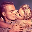 Mona Freeman and Tab Hunter