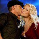 Michelle Hunziker and Eros Ramazzotti