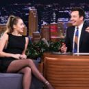 Miley Cyrus – 'The Tonight Show Starring Jimmy Fallon' in NYC - 454 x 302