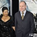 David Yates with his wife, Yvonne Walcott, at the premiere of Harry Potter and the Deathly Hallows – Part 1 in New York City on 15 November 2010