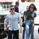 Alison Brie and Dave Franco – Arrive in Paris