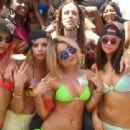 Ashley Benson, Selena Gomez,Vanessa Hudgens, on location in Florida