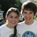 Devon Werkheiser and Lindsey Shaw