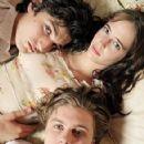 Michael Pitt, Eva Green and Louis Garrel in The Dreamers Photoshoot (2003)