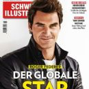 Roger Federer - Schweizer Illustrierte Magazine Cover [Switzerland] (24 June 2016)