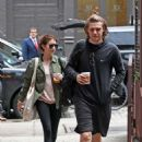 Emma Roberts with Evan Peters out in NYC