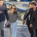 Nikki Reed - Arriving at Jimmy Kimmel Live! in LA