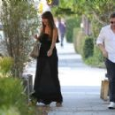 Sofia Vergara in Black Long Dress Out in West Hollywood - 454 x 303
