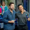 Brody Jenner visits the 'Extra' set on January 5, 2015