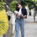 Daisy Lowe in Jeans – Out in London - 454 x 599