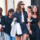Irina Shayk – Out shopping in NYC