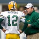 Aaron Rodgers With Coach Mike  McCarthy - 350 x 261