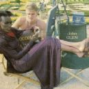 Dolph Lundgren and Grace Jones - 267 x 231