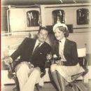 Errol Flynn and Patrice Wymore