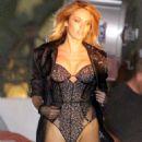 Candice Swanepoel Lingerie Photoshoot In La