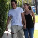 Jennifer Love Hewitt and Ross McCall