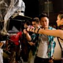 BTS: (L-R) Jon Chu, Marie 'Pandora' Medina. Ph: K.C. Bailey ©2010 Summit Entertainment, LLC. All rights reserved. - 454 x 303