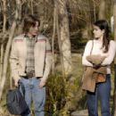 Rory Culkin as Scott Bartlett with Emma Roberts as Adrianna Bragg in comedy drama Lymelife.