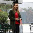 Jessica Alba – Leaves a spin class in Los Angeles