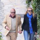 Jerry Hall and Rupert Murdoch - 454 x 770