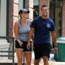 Miranda Lambert in Shorts – Out for a stroll in NYC - 454 x 645