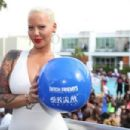 Amber Rose Arrives at Ditch Fridays at Palms Pool & Dayclub in Las Vegas, Nevada - May 22, 2015 - 454 x 303