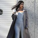 Kourtney Kardashian – Leaving Kanye West's Studio in Los Angeles