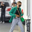 Hailey Bieber – Arrives at a dermatologist in Beverly Hills