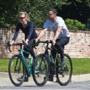 Shia LaBeouf and Mia Goth – Bike Ride candids in Pasadena