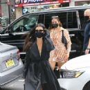 Addison Rae and Kourtney Kardashian – Seen while step out of their hotel in New York City