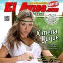Ximena Duque - El Aviso Magazine Cover [United States] (20 April 2013)