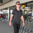 Robin Thicke is seen at LAX - 416 x 600