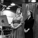 Shirley Booth recording the cast album of JUNO 1959 - 454 x 704