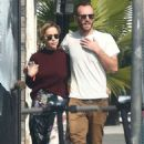 Emilia Clarke and Charlie McDowell – Shopping in Venice Beach